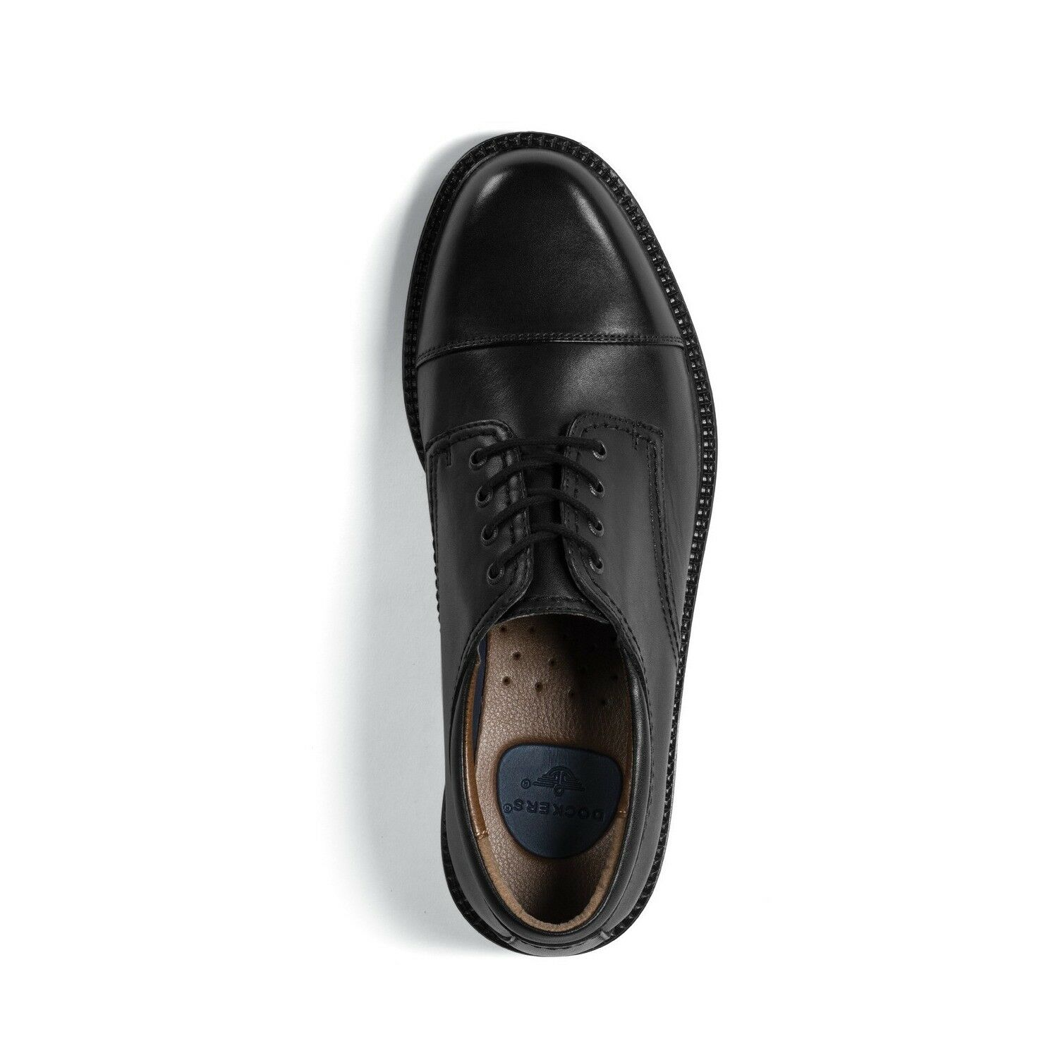 Dockers Mens Gordon Genuine Leather Dress Casual Cap Toe Lace-up Oxford Shoe 1