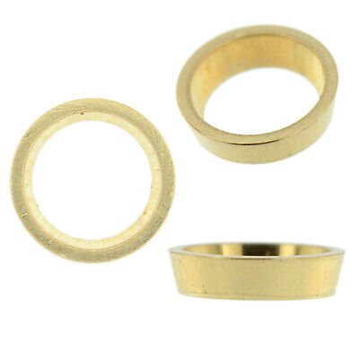 14K Yellow Gold Round Tapered Bezel Head Setting Mounting 0.01ct - 2.00ct USA