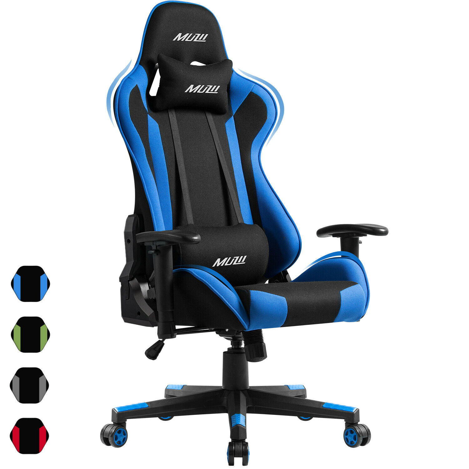 Computer Gaming Chair Office Racing Style Recliner Seat Swiv