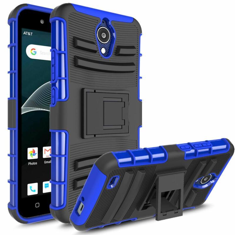 AtT Axia Qs5509A Case, Androgate  Hybrid Heavy Duty Combo Ph