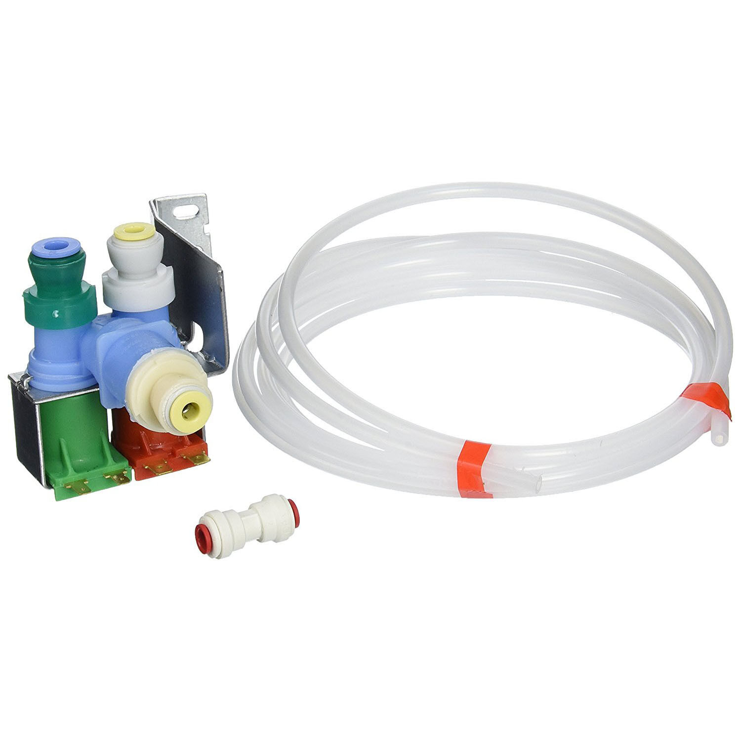 Refrigerator Water Inlet Valve Kit Dual Coil for Whirlpool K
