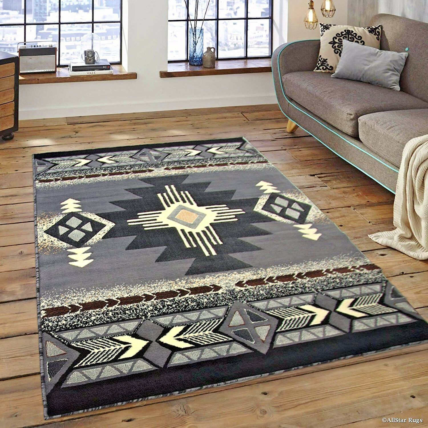 Rugs Area Rugs Carpet 8x10 Area Rug Floor Big Gray Large