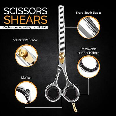 Hair Thinning Scissors Texturizing Teeth Shears Salon Razor Edge Scissor 6.5