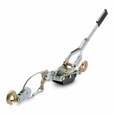 5 Ton Heavy Duty Come-a-long Puller 3 Hooks 2 Gears