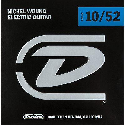 Dunlop 10 - 52 Nickel Light Heavy Electric Guitar Strings Made in USA DEN1052