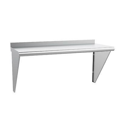 14 X 36 - Commercial Stainless Steel Restaurant Kitchen Shelf Wall Heavy-duty