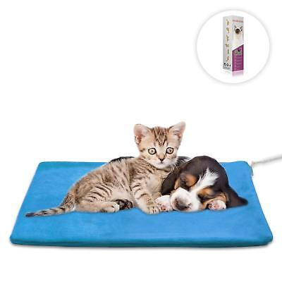 Pets Heating Pad Bed Waterproof Winter Warming Heated Dog Puppy Cat Warmer  NEW