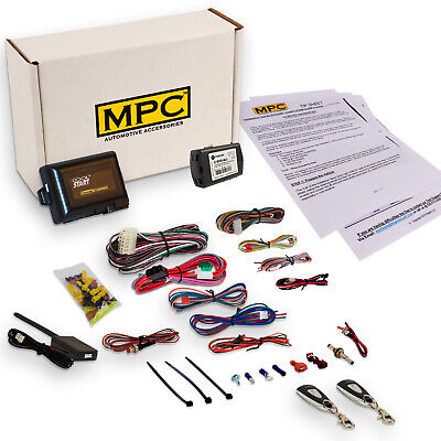 Complete 1-Button Remote Start Kit For 2004-2008 Acura TSX - Includes Bypass