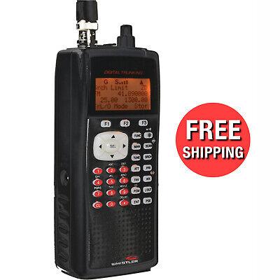 Digital Handheld UHF VHF Police Radio Scanner Portable Fire
