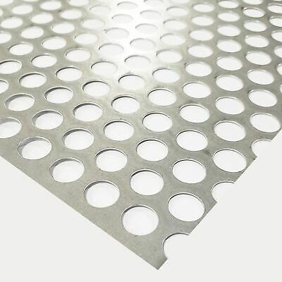 Galvanized Steel Perforated Sheet 0.028 X 24 X 24 12 Holes