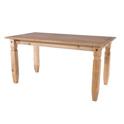 Corona Mexican Solid Pine Large Dining Table - 6ft COR020A