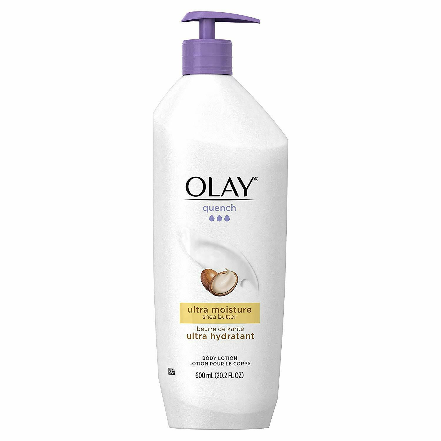 Olay Quench Body Lotion Ultra Moisture with Shea Butter and