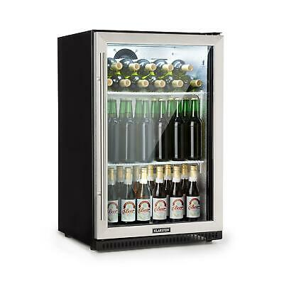 Wine Fridge Beer cooler drinks chiller Bar Refrigerator 133 L Auto defrost Black