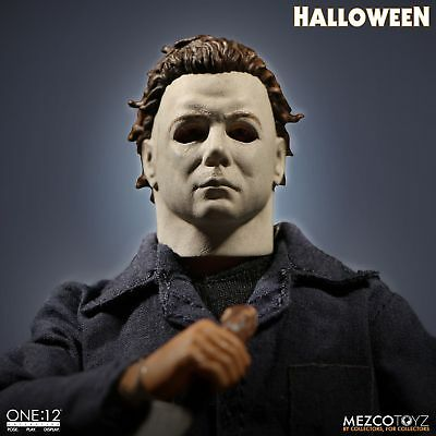 MEZCO ONE:12 COLLECTIVE MICHAEL MYERS HALLOWEEN FIGURE