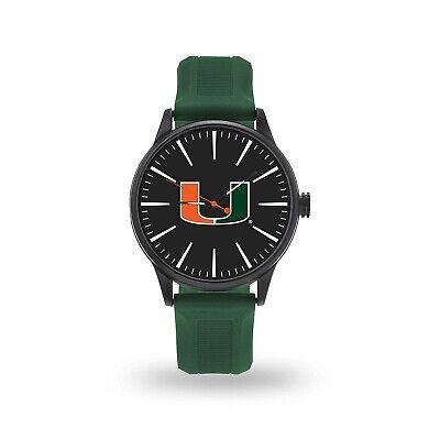 Miami Hurricanes Cheer Design Watch Team Color Logo University -