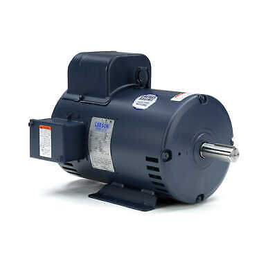Leeson 132044 Electric Motor For Air Compressor 7.5 Hp 3450 Rpm 1-ph 230v 184t