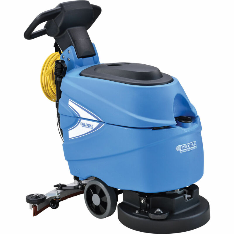 "Corded Electric Automatic Floor Scrubber 17"" Cleaning Path"