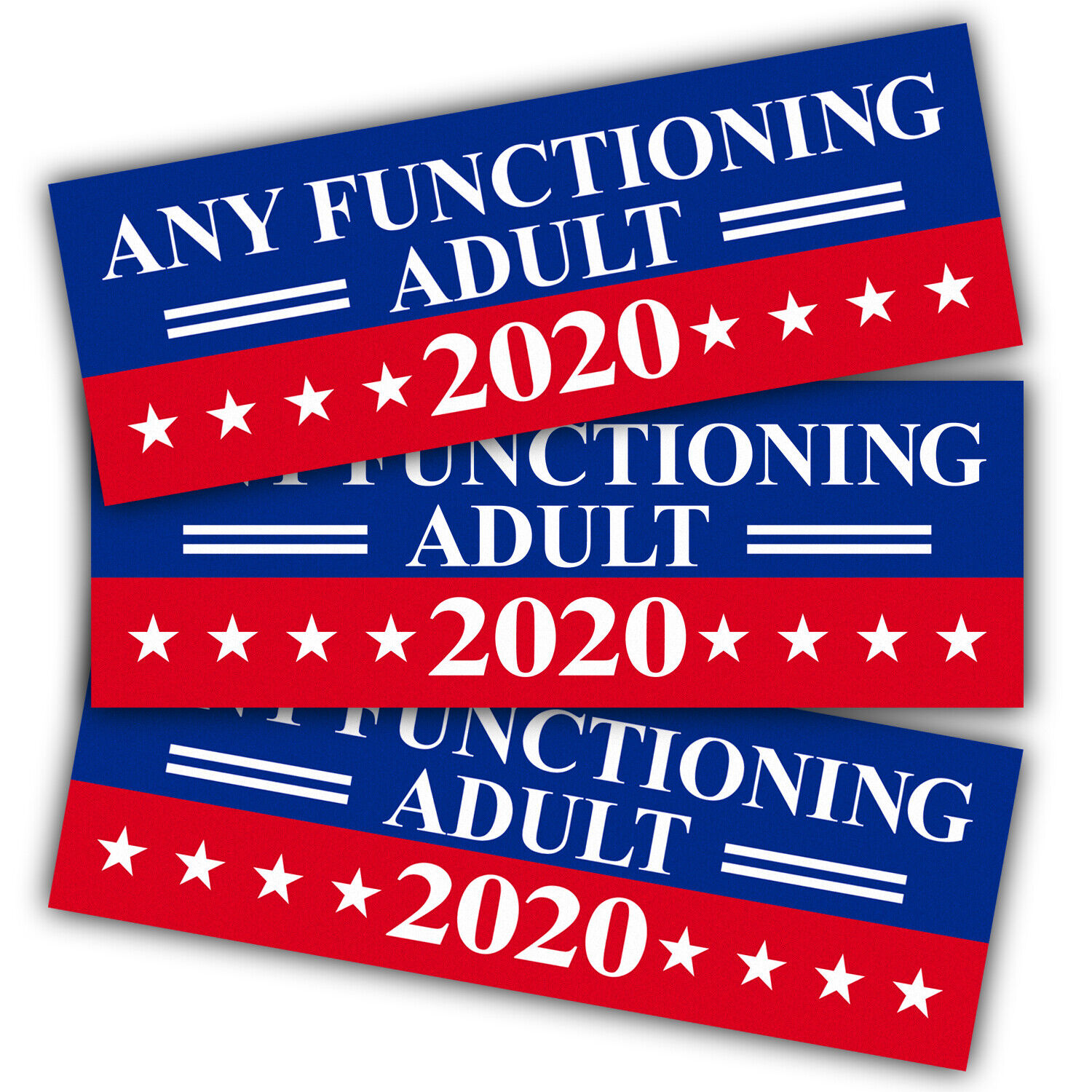 Anley 9X3 inch Any Functioning Adult 2020 Decal car  and Tru
