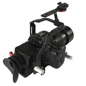 Varavon ARMOR Mini Rig - Cage for Canon EOS 7D DSLR (Black)