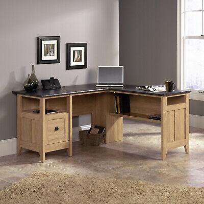 Office L-Shaped Corner Desk Computer Home 90 Degree Angle Modern Sturdy Best