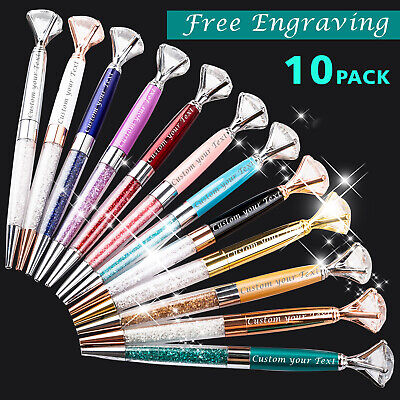 10pack Custom printed pens personalized pens Imprinted pens Name and logo pen Personalized Logo Pens