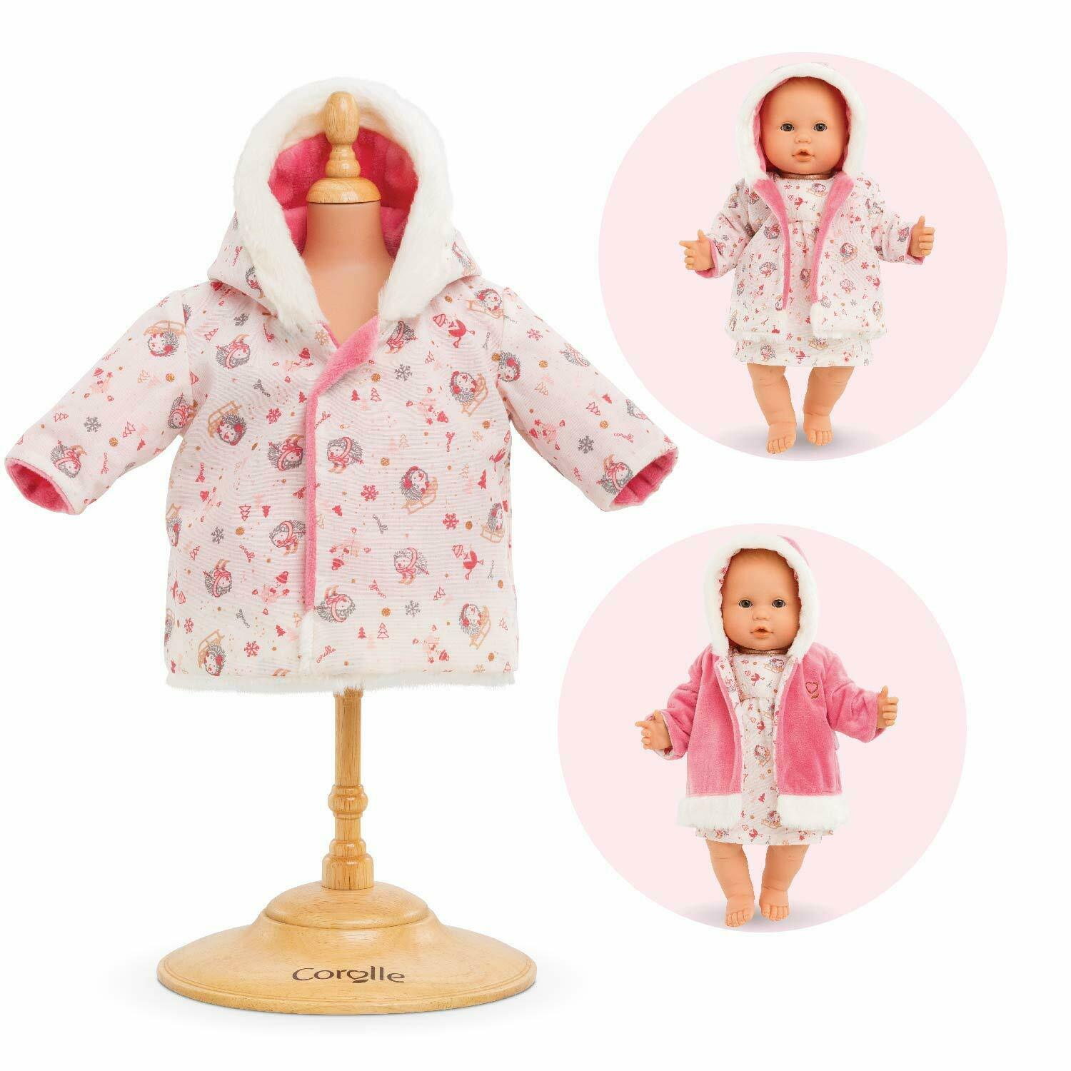 Corolle - Enchanted Winter Reversible Coat - Clothing Access