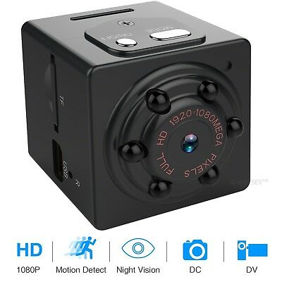 Hidden Camera Kit Best Spy Tiny Motion Sensor Battery Powered With Microphone (Best Night Vision With Powers)