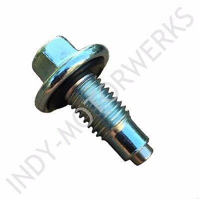 MAGNETIC OIL DRAIN PLUG NEO MAGNET M12 - 1.75 15MM HEAD NEODYMIUM 5X STRONGER Drain Plug Magnet