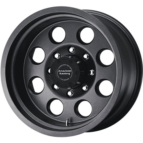 16x8 Teflon American Racing ATX Mojave 8x170 +0 Wheels All Terrain 265/75/16