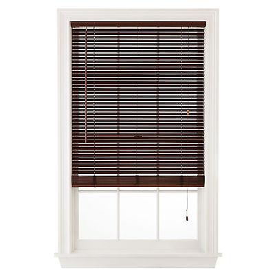 Wood Window Blinds 1  Slats   White  Pine  Cherry Or Oak Colors