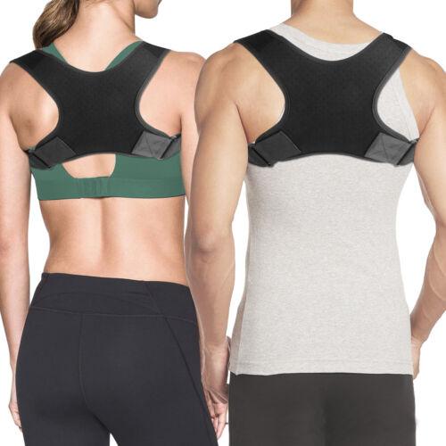 Posture Corrector Adjustable Upper Back Shoulder Belt Support Brace Men Women