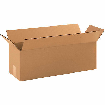 18 X 6 X 6 Long Cardboard Corrugated Boxes 65 Lbs Capacity 200ect-32 Lot