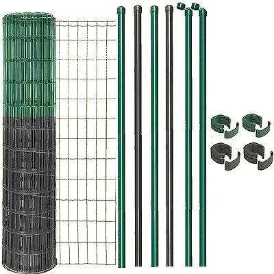 GAH Set Fix-Clip Pro 120 cm x 25 m HxL Zaunset Zaunkomplett-Set Gartenzaun NEU