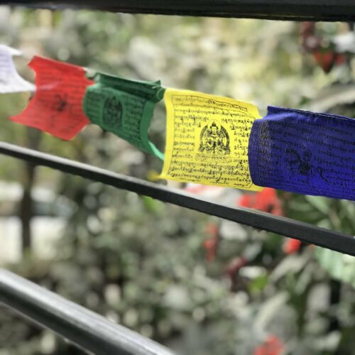 Buddha prayer flags Tibetan horse flag High Quality 8X10