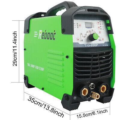 110v220v Tig 200p Tig Pulse Welder 200a Stick Mma Inverter Igbt Welding Machine