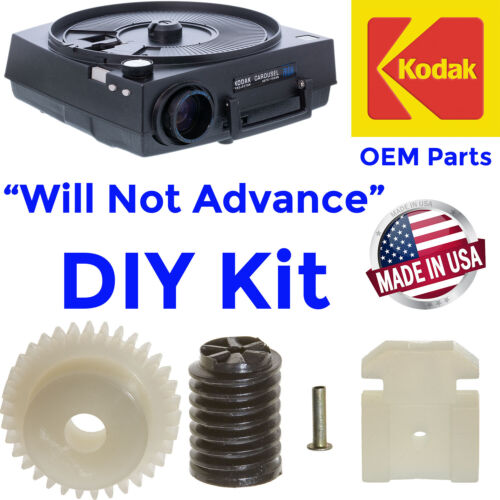 Repair Kit For Kodak Carousel Slide Projector w/Focus Motor (Not Advancing)