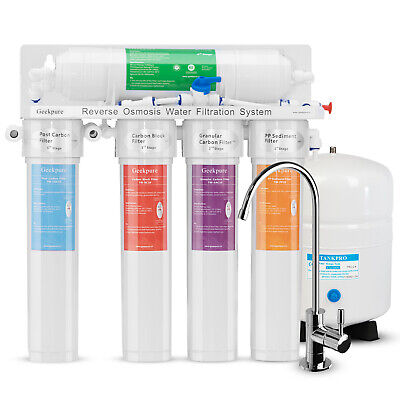 5 Stage Reverse Osmosis RO Water System With Twist Quick Change Filters 75 GPD for sale  Canada