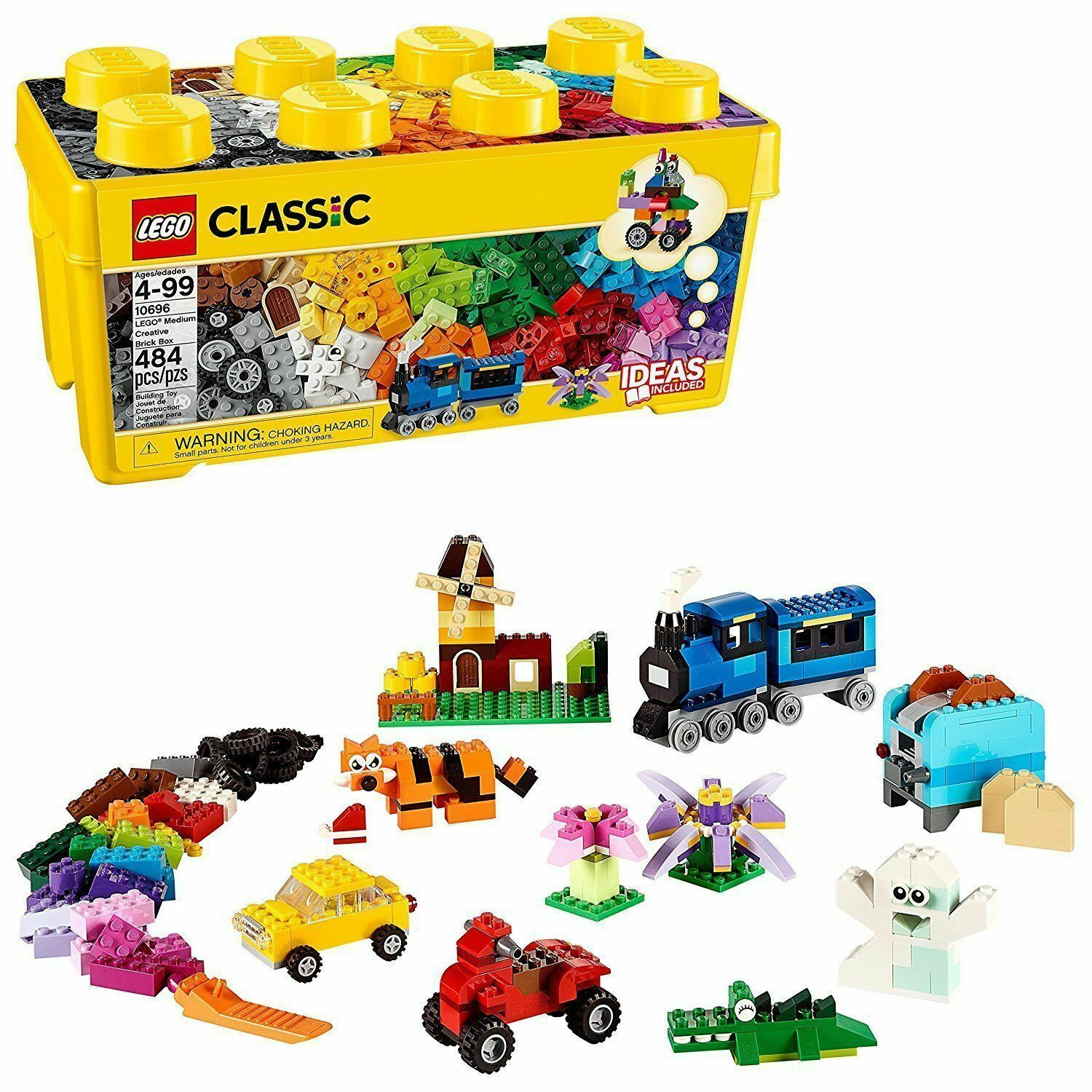 Educational Toy Large Kids Toy LEGO Classic Medium Creative