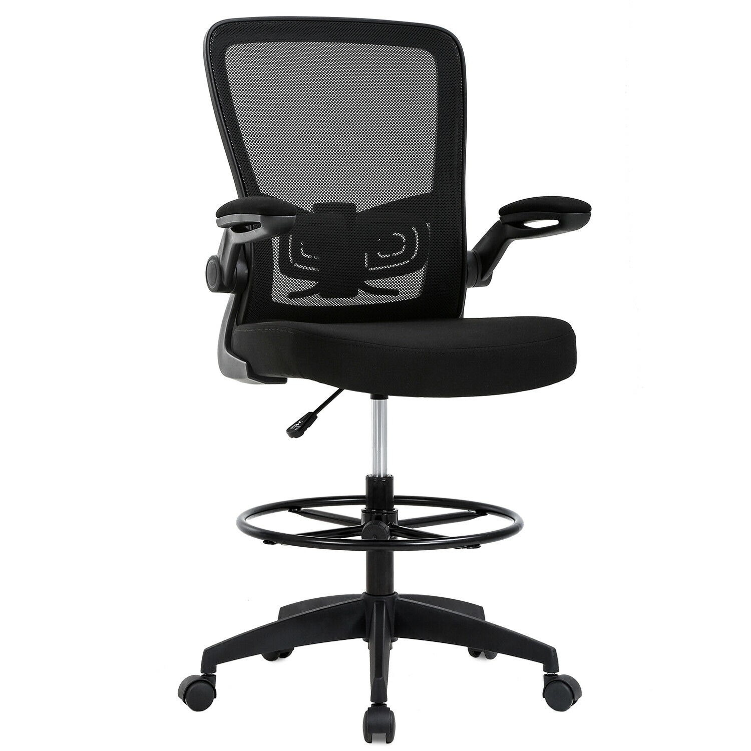 mesh drafting chair tall office chair drafting
