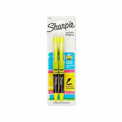 Sharpie Accent Pen-style Highlighter Chisel Tip Yellow 2-count