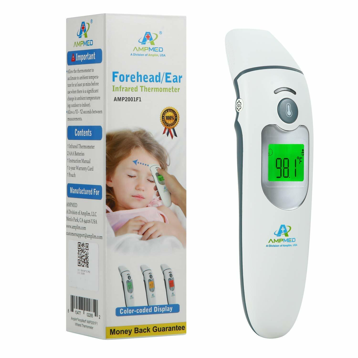 Baby Forehead Ear Dual Mode Non-Contact/Touch Thermometer IR Infrared Digital  - $57.50
