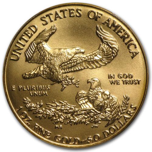 1 oz Gold American Eagle MS-69 PCGS (Random Year) - SKU #83483