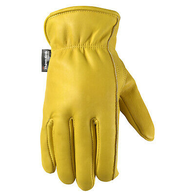 Well Lamont 1108 Mens Cowhide Leather Work Gloves
