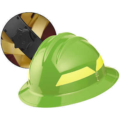 Lime Yellow Hat Bullard Wildland Fire Helmet With Ratchet Suspension