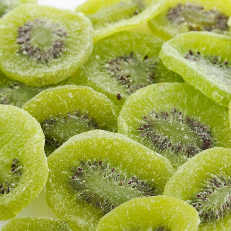 Dried Kiwi Slices by Its Delish, 3 lbs Bulk Delicious Candied Kiwi Fruit