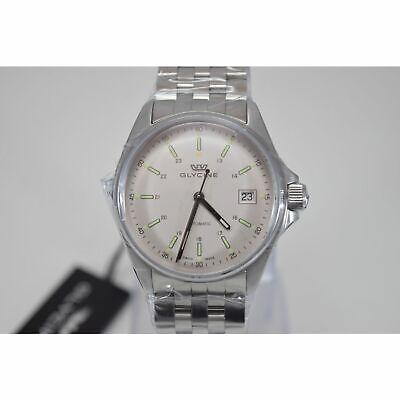 Glycine 3916.11.MB Men's COMBAT Silver Automatic Watch