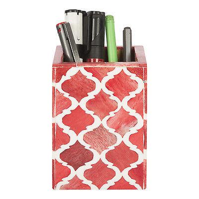 Handicrafts Home Desktop Pen Pencil Holder Cup Office Supplies Organizer Caddy