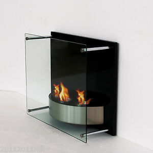 23-6-Bio-Ethanol-Fireplace-Gel-Fuel-Burner-Wall-Mount-3-Reservoir-Box-On-Sale