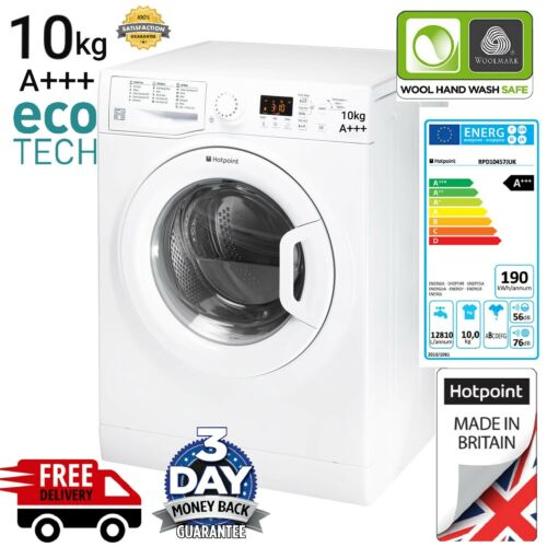 Hotpoint WMUD10637 10kg Washing Machine 1600 A+++ White FREE DELIVERY AVAILABLE