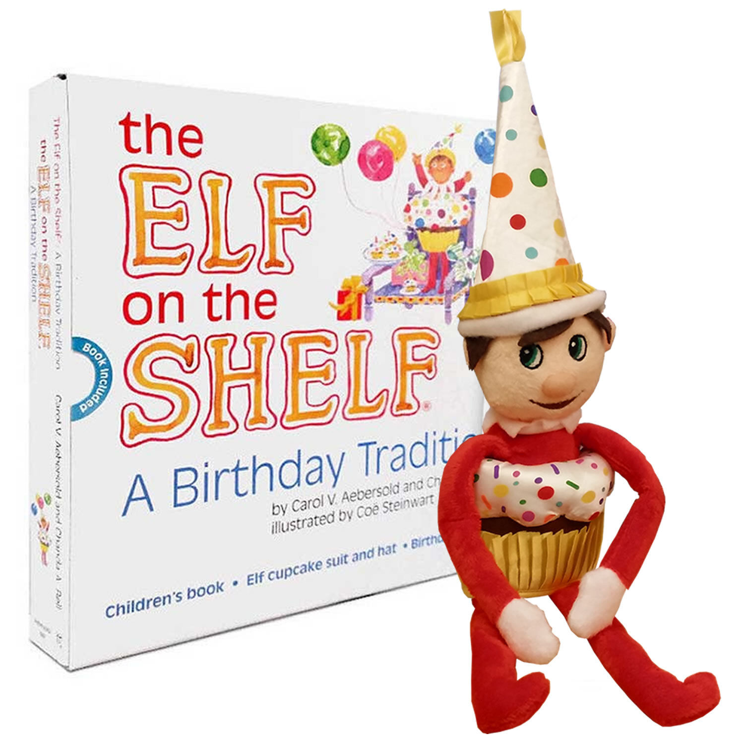 The Elf On The Shelf A Birthday Tradition Kids Story Book